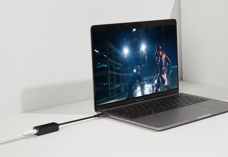 Cáp Chuyển Đổi Macbook Sang Mạng LAN Netease