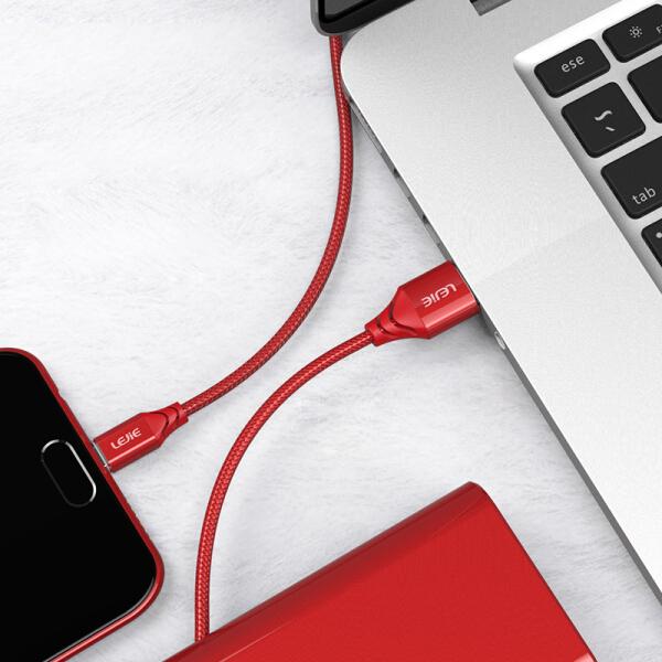 Cáp Sạc Và Truyền Dữ Liệu Micro USB Cho Android Lejie
