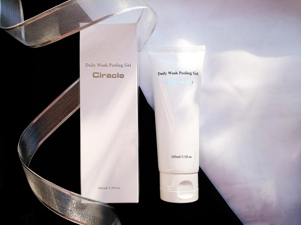 Gel rửa mặt tẩy tế bào chết loại bỏ mụn đầu đen, kiểm soát nhờn Ciracle Pore Control Daily Wash Peeling Gel 100ml