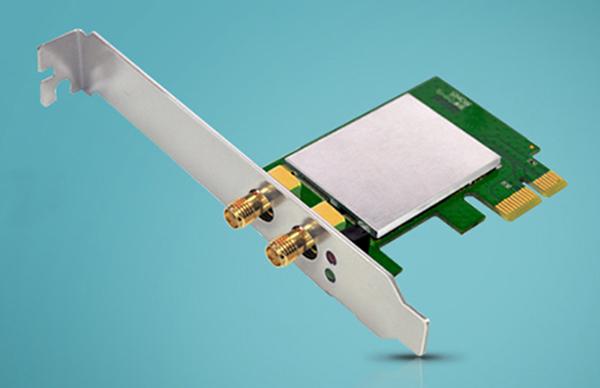 Card Mạng Wifi Asus PCE-AC55BT PCI-e a/b/g/n/ac 2.4GHz/5GHz 300+867Mbps - Hàng Chính Hãng