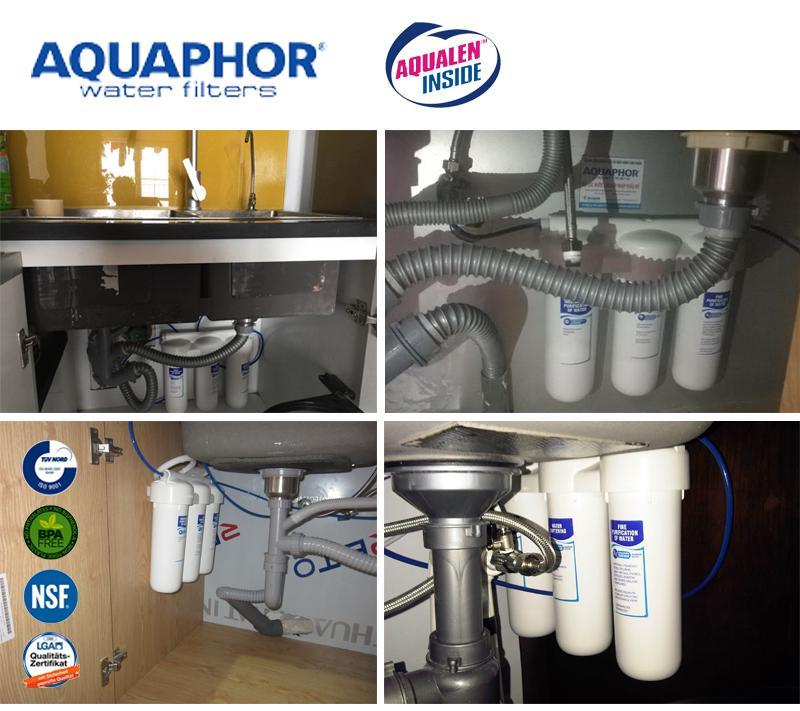 Máy lọc nước Nano Aquahor Trio Softening