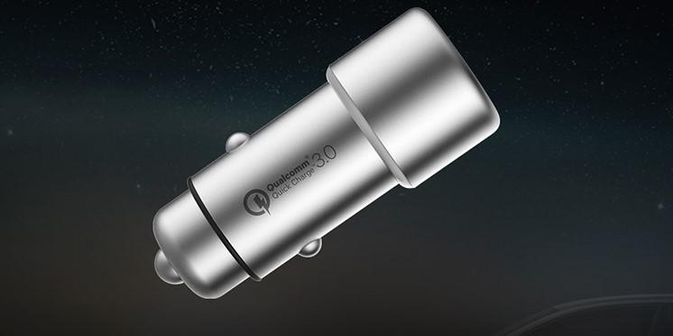 Sạc Nhanh Ô Tô Xiaomi Quick Charge 3.0 - Hàng Chính Hãng