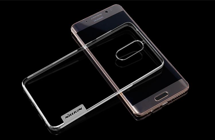 Ốp Nhựa Mềm TPU Trong Suốt Nillkin Chống Sốc Cho Huawei Mate 9 - Vàng Đồng