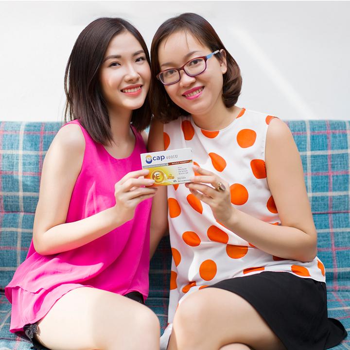 Viên uống Vitamin E 400IU chống lão hóa
