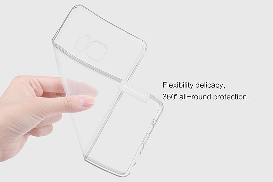 Ốp Lưng Dẻo Samsung Galaxy Note FE Nillkin TPU
