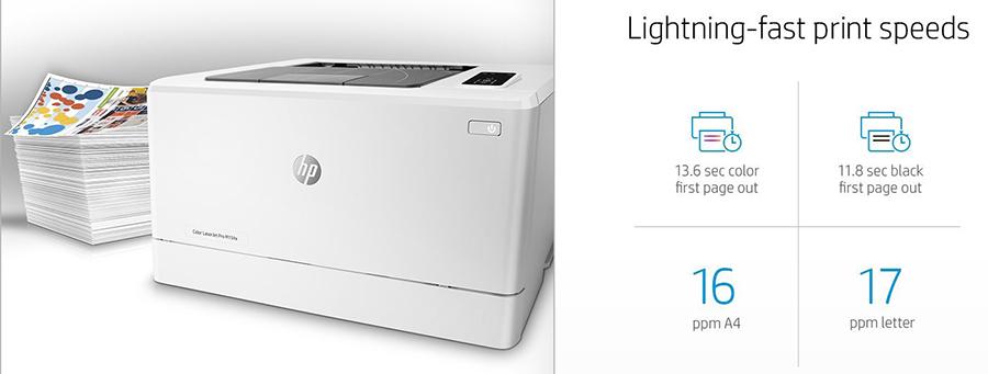 Máy In Màu Đơn Năng HP LaserJet Pro M154A USB - Hàng Chính Hãng