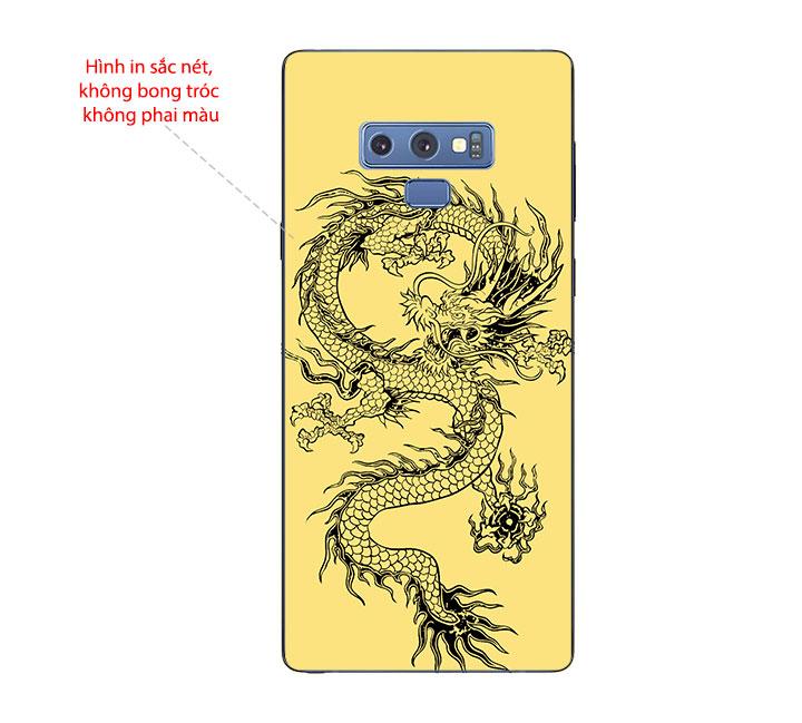 Ốp Lưng Dẻo Cho Điện thoại Samsung Galaxy Note 9 - Dragon 02