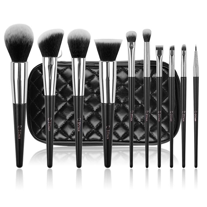 Bộ cọ trang điểm 10 cây DUcare make up brushes 10pcs professional