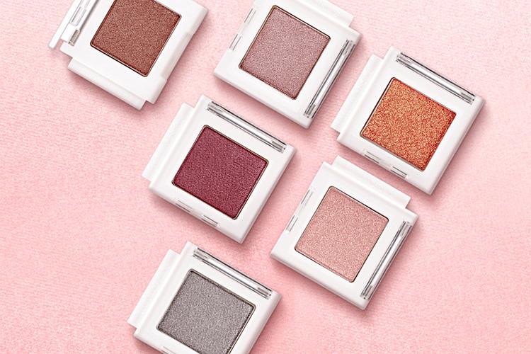 Màu Mắt Nhũ Kim Tuyến The Face Shop Mono Cube Eyeshadow (Glitter) OR01  Orange Island