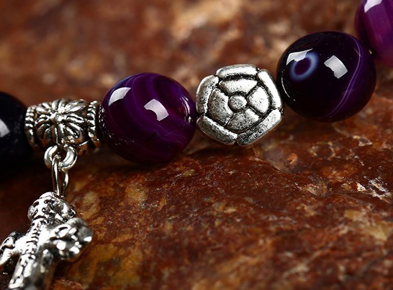 Vòng tay đá Thạch Anh thời trang AT01