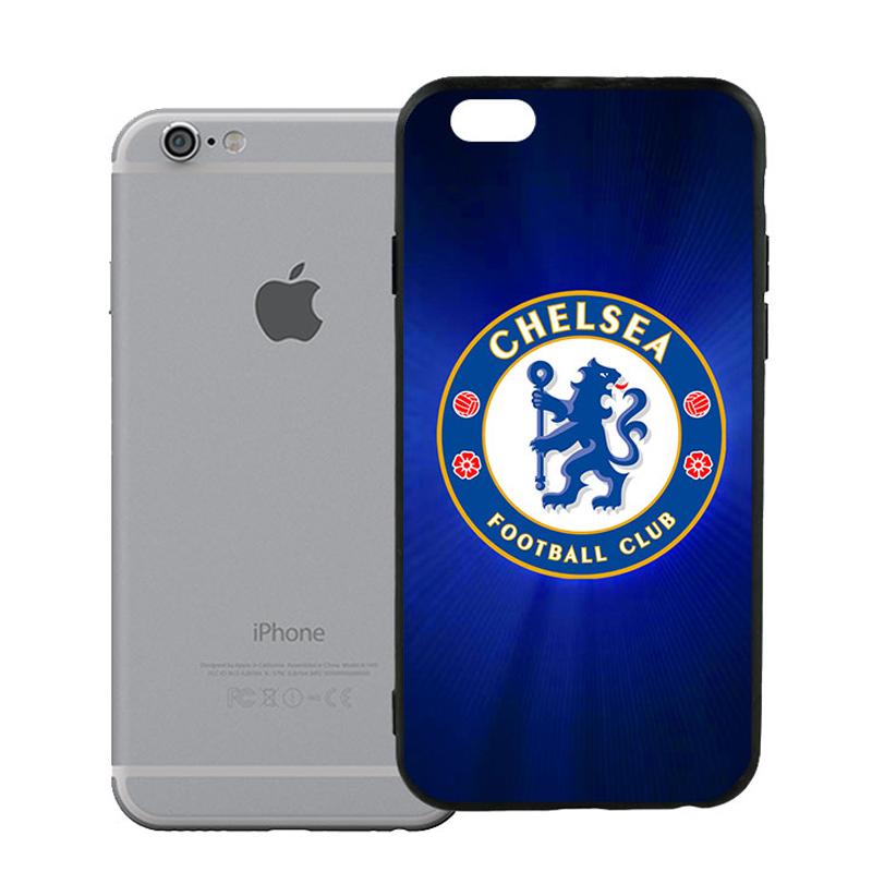 Ốp Lưng Viền TPU Cho iPhone 6 / 6S - Clb Chelsea 02