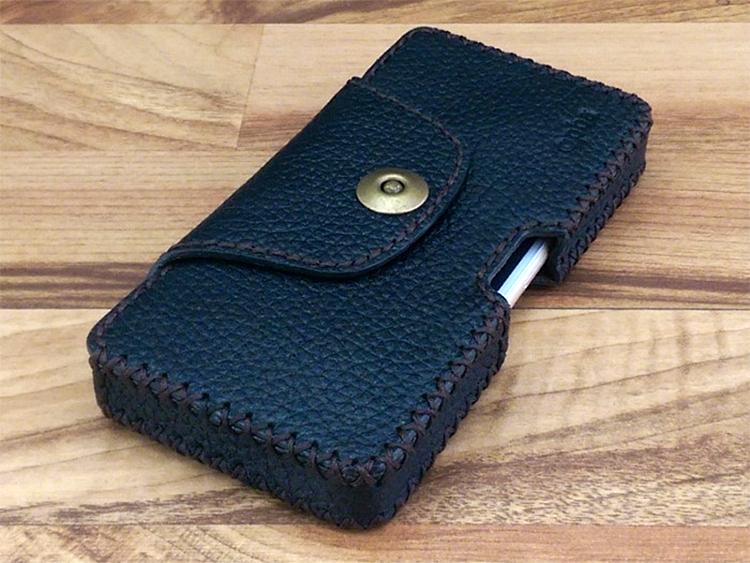 Bao Da Đeo Lưng Cho Điện Thoại iPhone 6 / 6S - Hàng Nhập Khẩu