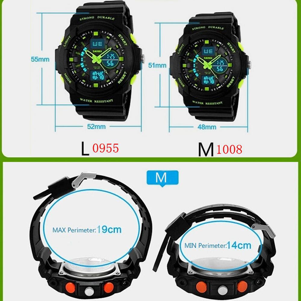 Đồng Hồ Cặp Đôi Thể Thao SKMEI 0955-1008 DHA431