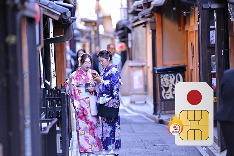 Sim 4G Nhật Bản