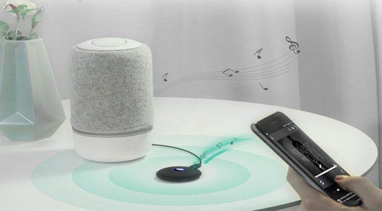 Bộ Thu Bluetooth 4.2 Ugreen 3.5mm APTx Có Pin 40762 - Hàng Chính Hãng