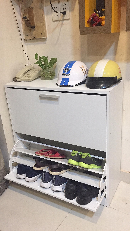 Tủ giày thông minh 2 tầng