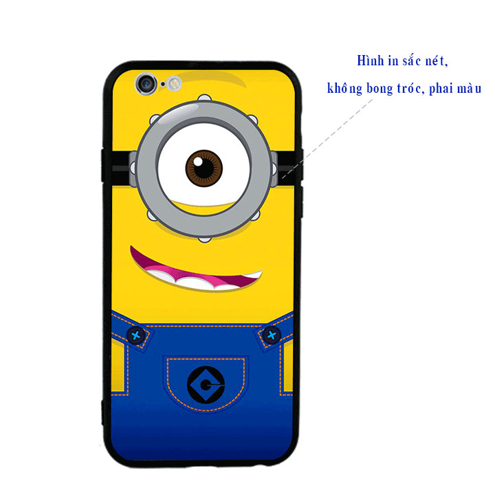 Ốp lưng viền TPU cao cấp cho Iphone 6 Plus - Minion 01
