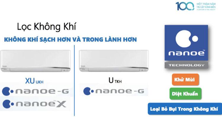 Máy Lạnh Inverter Panasonic CU/CS-XU18UKH-8 (2.0HP)