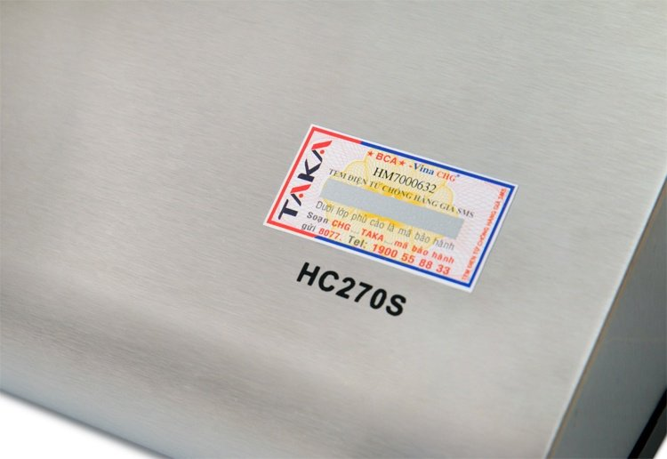 Máy Hút Khói Khử Mùi Bếp 7 Tấc TAKA TK-HC270S