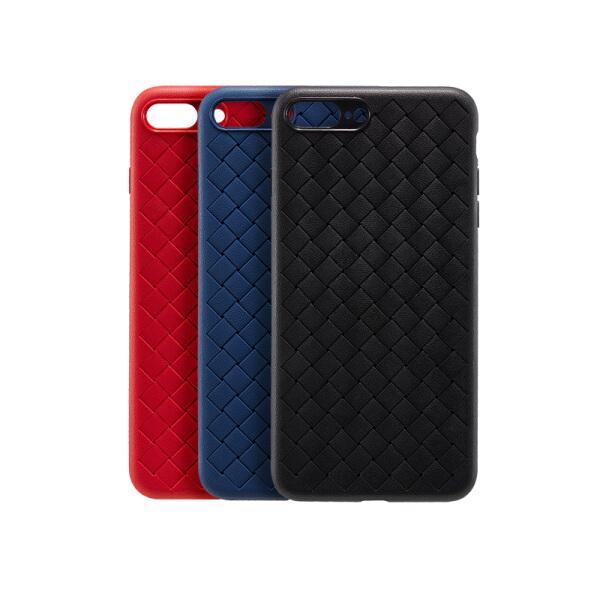 Ốp iPhone 7+/8+ Họa Tiết Dệt - Netease Zhizhi - Xanh Dương