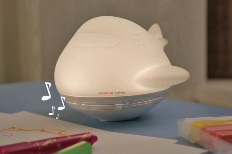 Loa Đèn LED Bluetooth MiPow PlayBulb Zoocoro Air Whale - Hàng Chính Hãng