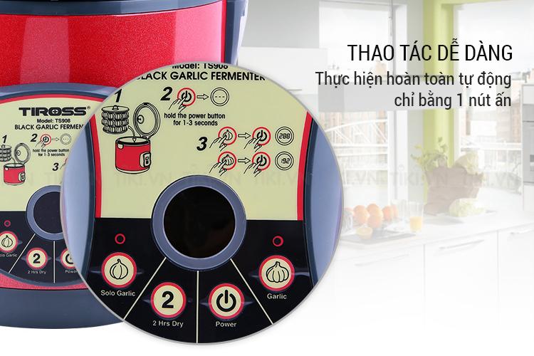 Máy Làm Tỏi Đen Tiross TS908 (6L) - Đỏ