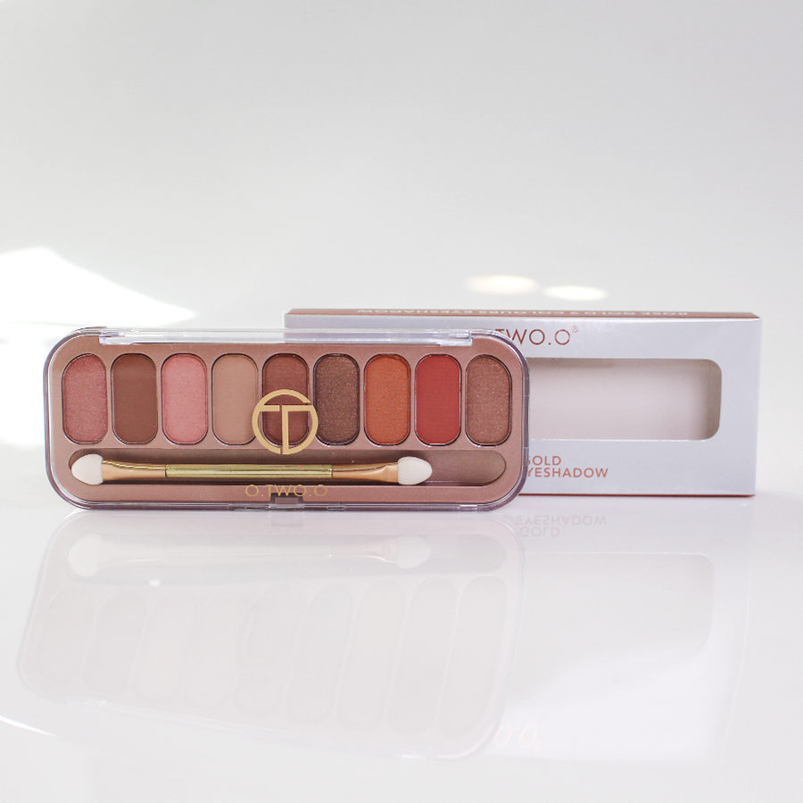 Bảng màu mắt O.Two.O rose gold 9 colours eyeshadow 1