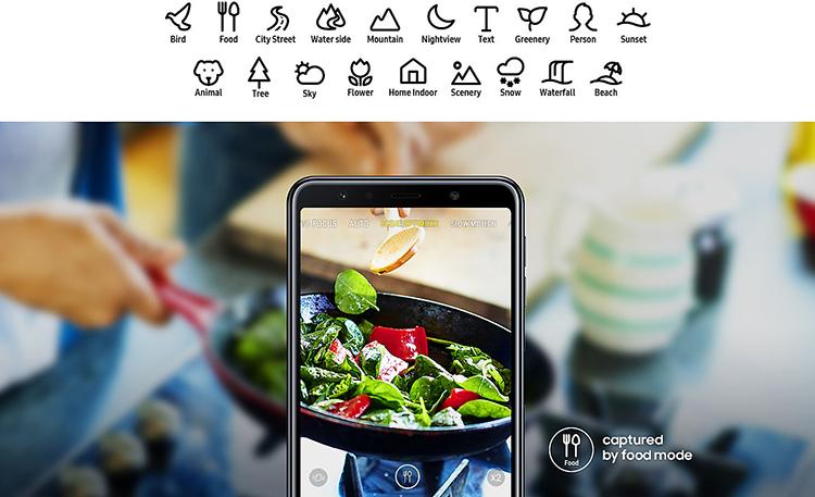 Điện Thoại Samsung Galaxy A7 (2018) - Hàng Chính Hãng