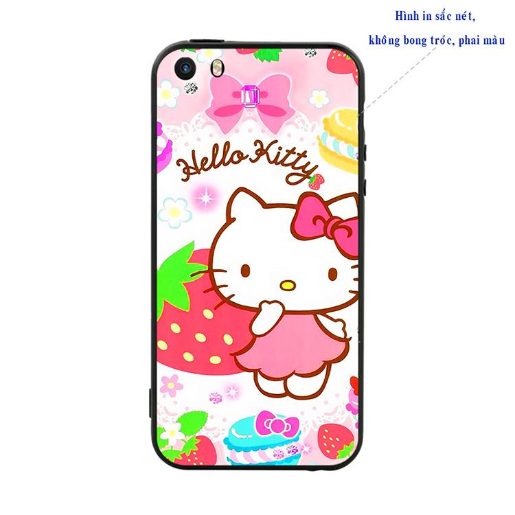 Ốp Lưng Viền TPU Cao Cấp Dành Cho iPhone 5 / 5s - Kute Cat
