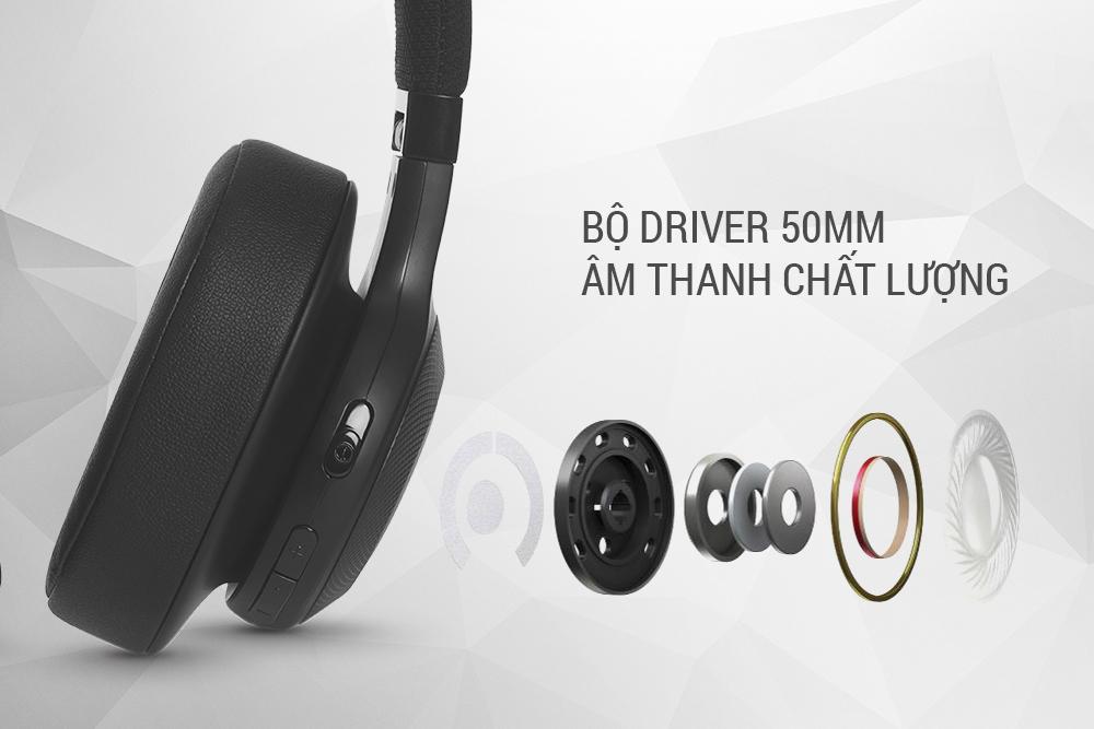Tai Nghe Bluetooth JBL E55BT - Hàng Chính Hãng