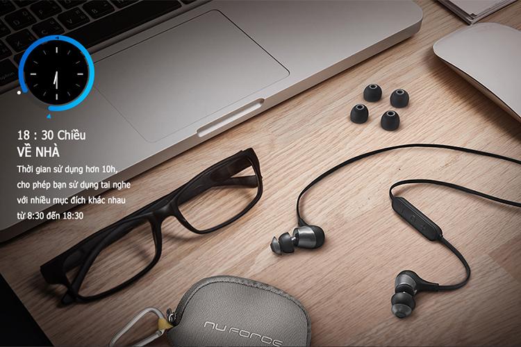 Tai Nghe Thể Thao NuForce BE Lite3 Bluetooth - Hàng Chính Hãng