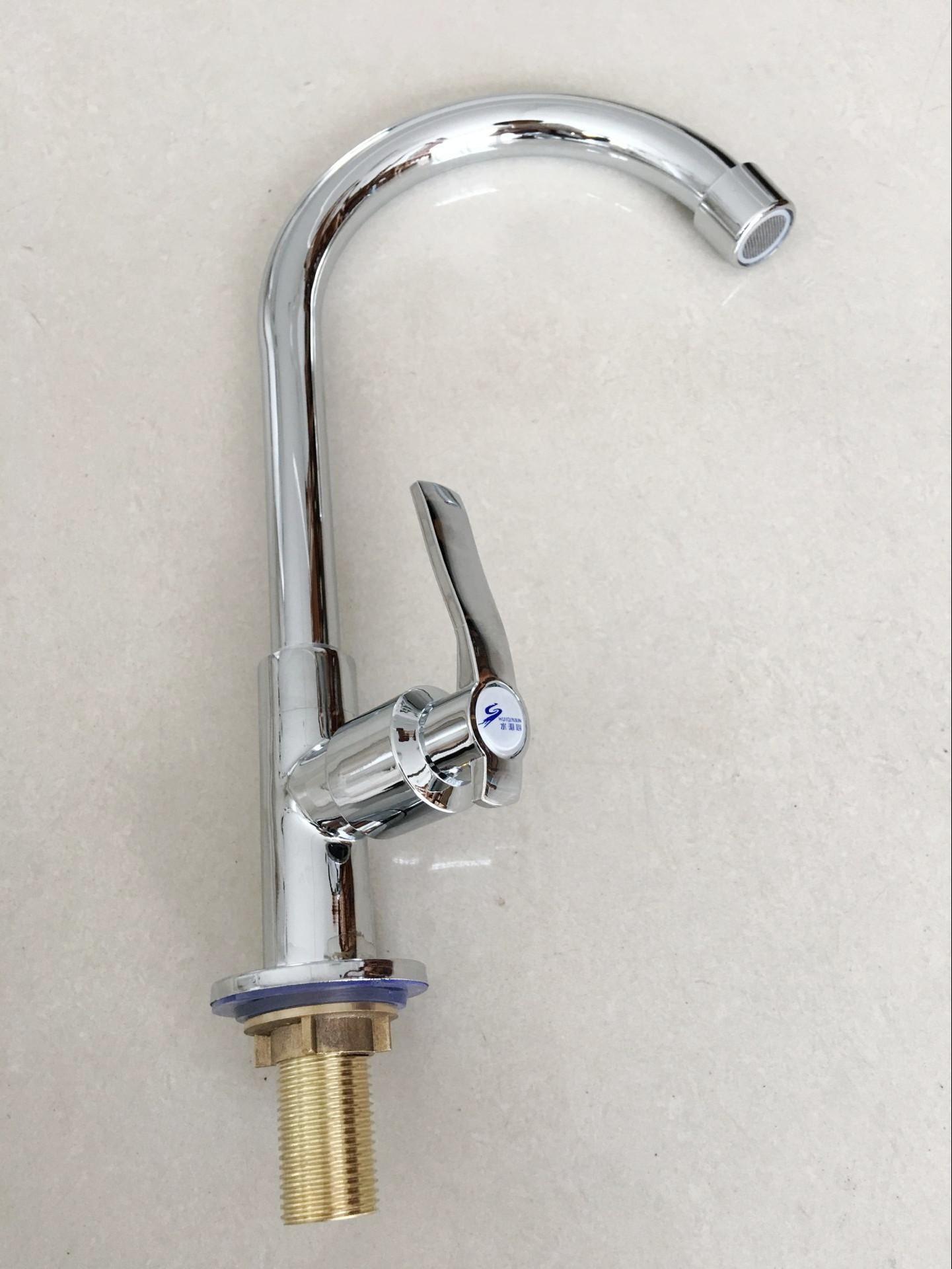 Vòi rửa chén nước lạnh gắn chậu TC-6531