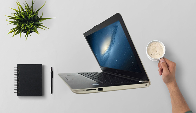 Laptop HP 14-BS563TU 2GE31PA Core i3-6006U