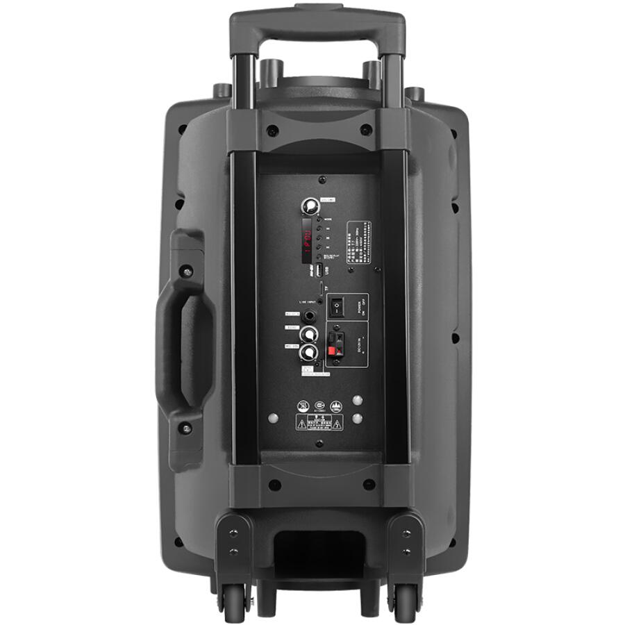 Loa Kéo Di Động + Micro Không Dây INTON T7 12-inch - Hàng Chính Hãng