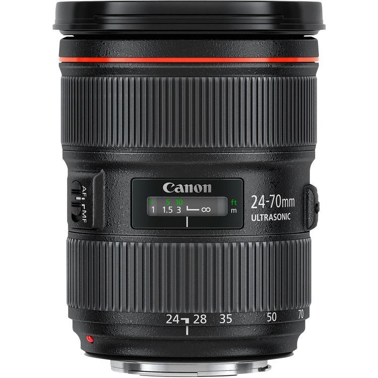 Ống Kính Zoom Canon - Tiêu Chuẩn EF 24-70mm f / 2.8L II USM
