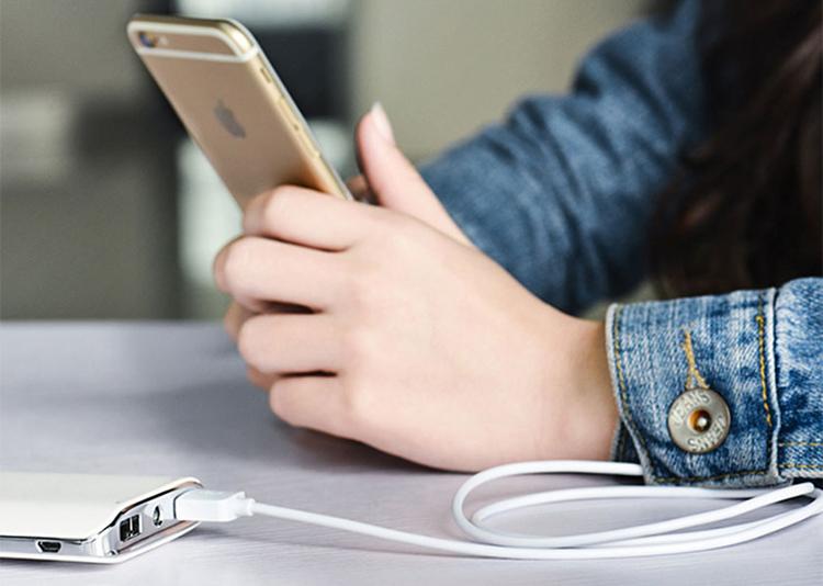 Cáp Sạc Lightning Hoco X1 1m Cho Iphone - Hàng Chính Hãng (Trắng)