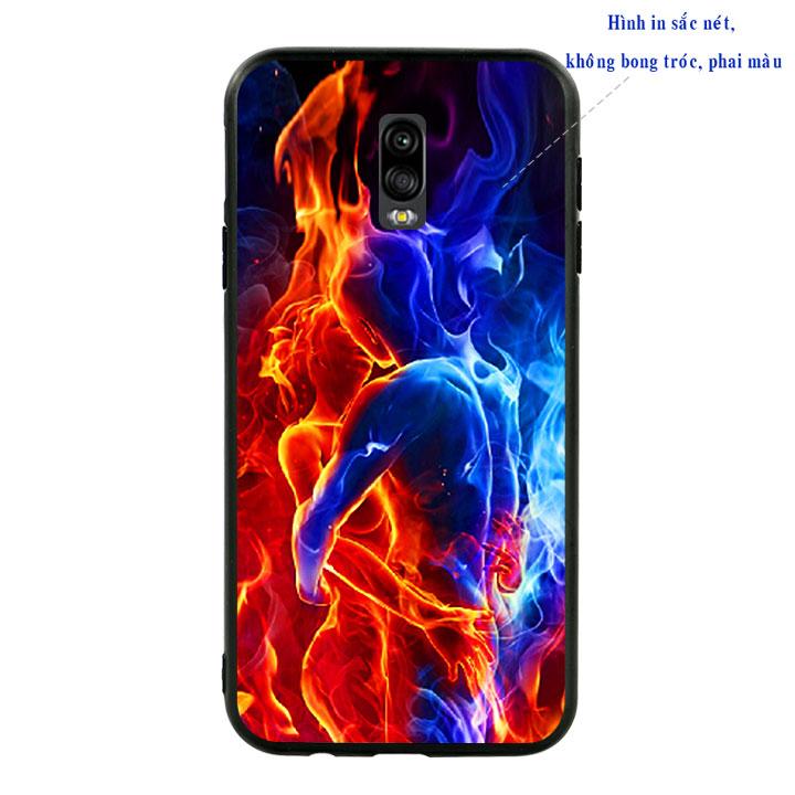 Ốp lưng viền TPU cao cấp cho Samsung Galaxy J7 Pro - Love 04