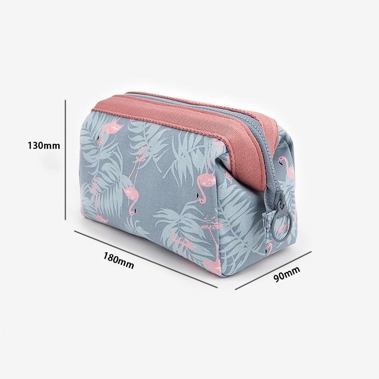 Túi Đựng Đồ Mỹ Phẩm Không Thấm Nước TNTT0105 (18 x 13 x 9 cm) - Xanh