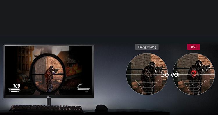 Màn Hình Gaming LG 22MK430H 22inch FullHD 5ms 75Hz FreeSync IPS - Hàng Chính Hãng
