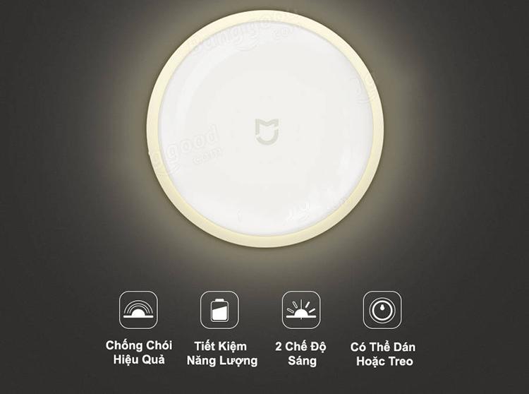 Đèn Cảm Ứng Đêm Xiaomi Mijia - Hàng Nhập Khẩu