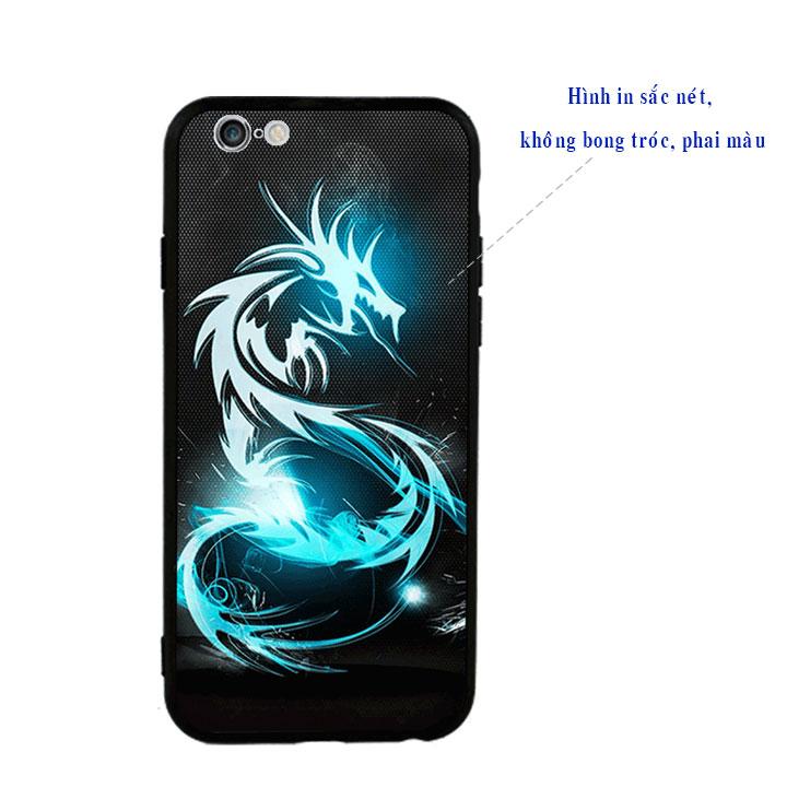 Ốp lưng viền TPU cao cấp cho Iphone 6 Plus - Dragon 03