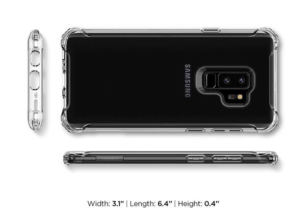Ốp lưng Samsung Galaxy S9 Plus SPIGEN Rugged Crystal