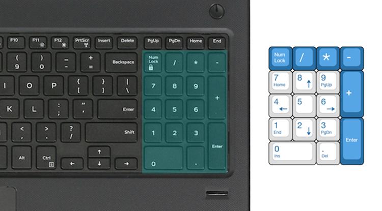 Laptop Dell Vostro V3578 NGMPF1 Core i7-8550U/Free Dos (15.6 inch) - Black - Hàng Chính Hãng