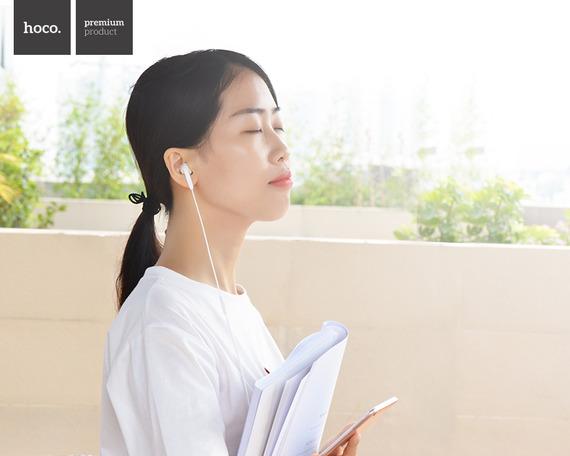 Tai nghe điện thoại Cao Cấp HoCo M17 (Đen)