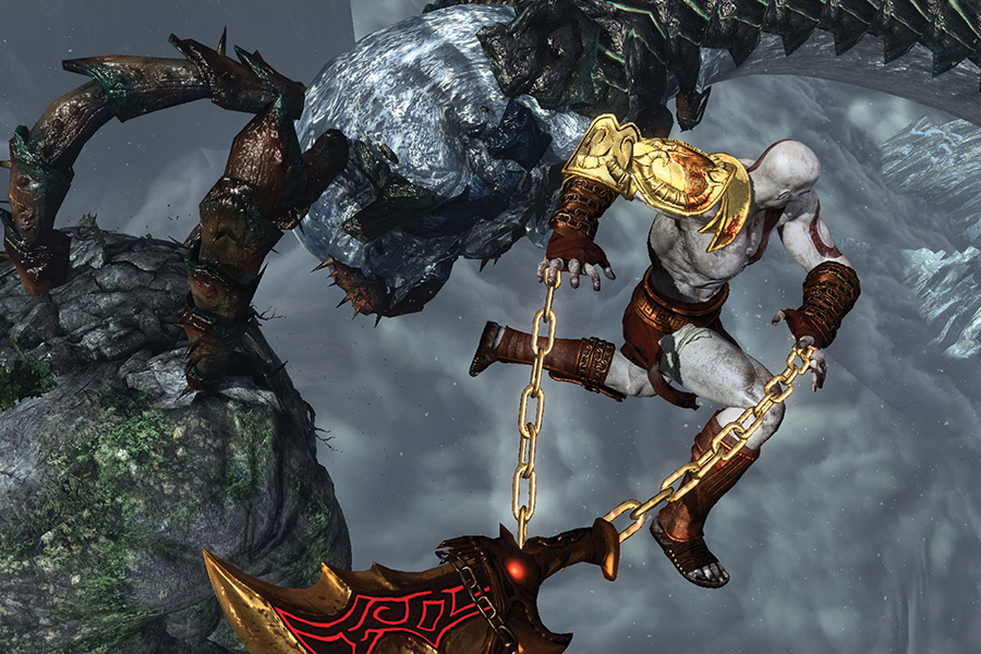 Đĩa Game PlayStation PS4 Sony God Of War 3 Remastered Hệ Asia