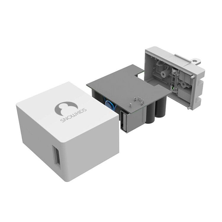 Đầu sạc đơn khe USB 2.4A Snowkids