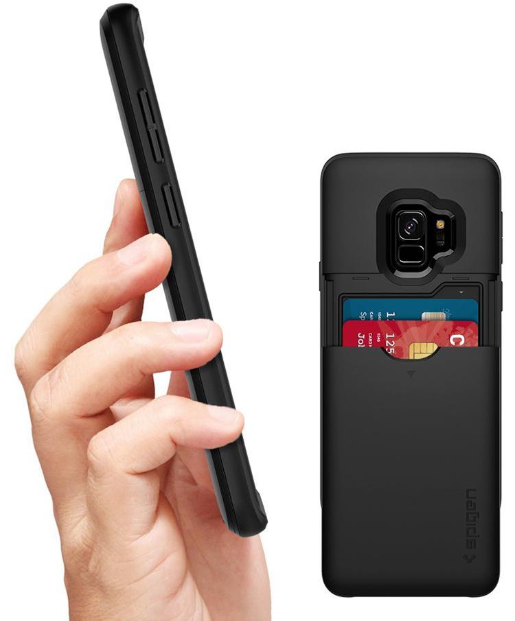 Ốp Lưng Samsung Galaxy S9 Spigen Slim Armor CS - Hàng Chính Hãng
