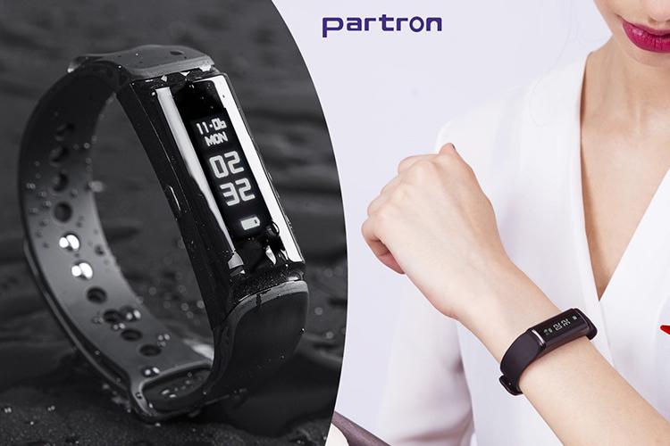 Vòng Đeo Tay Thông Minh Theo Dõi Vận Động Partron Urban S+ PWB-250 - Hàng Chính Hãng